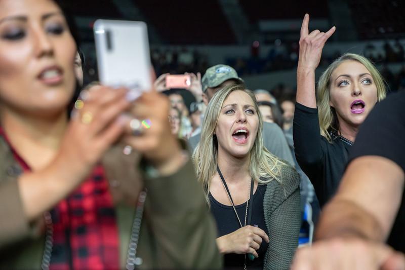 Bush plays for the Bush + Live Altimate Tour, October 15, 2019