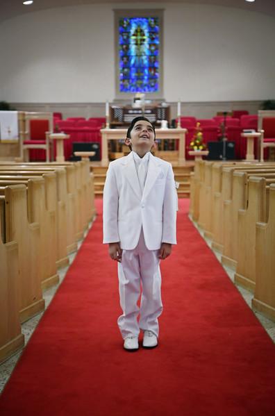 David's 1st communion