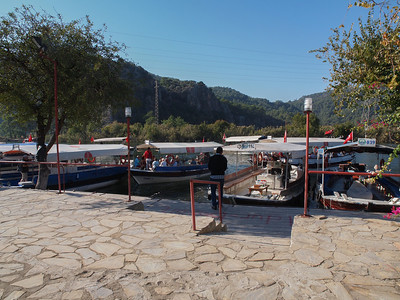 Boat trip on River Dalyan in Turkey