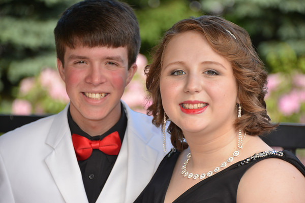 Cameron and Brittany at Brittany's Sr. Prom 6-6-14