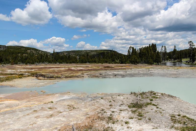 Black Diamond Pool - Yellowstone National Park