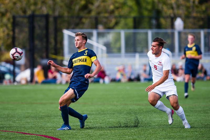 Men's Soccer: Willamette Bearcats vs Whitman Blues