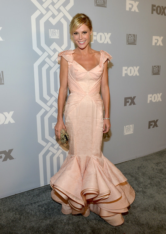 . Actress Julie Bowen attends the Fox Broadcasting Company, Twentieth Century Fox Television and FX celebration of their 2013 EMMY nominees at Soleto on September 22, 2013 in Los Angeles, California.  (Photo by Charley Gallay/Getty Images for FOX)