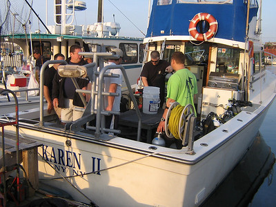 Sponsored Dive on the Karen II with Kings County Divers