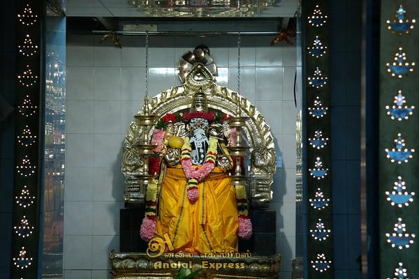 Sri Katpaga Vinayagar Temple YEAR FESTIVAL BEGINS FLAG HOISTING