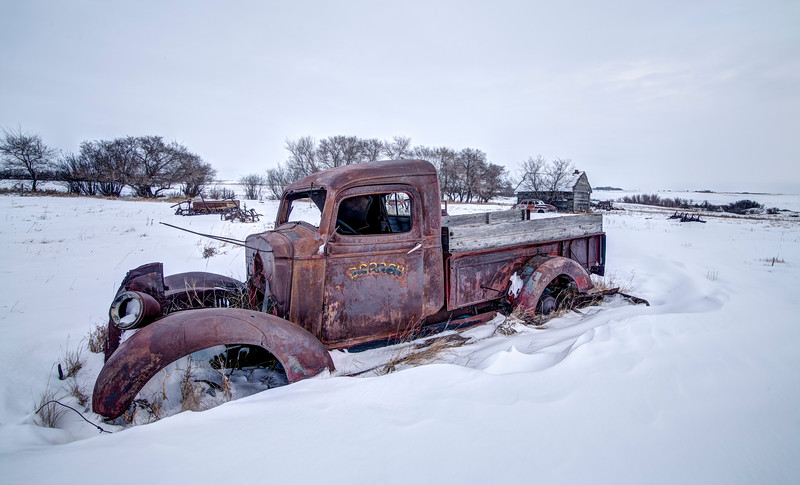 Winter Sleep, near Borden, SK