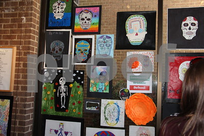 10/29/17 Tyler Museum Of Art Presents Day Of The Dead Art Show by Susan Wells
