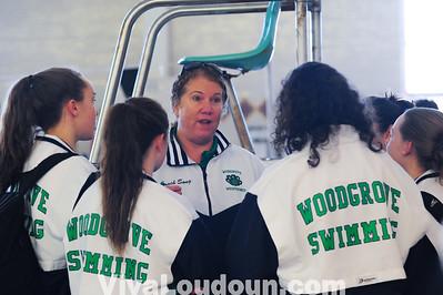 Swimming: Woodgrove vs Dominion (1-4-2014 by Jeff Vennitti)