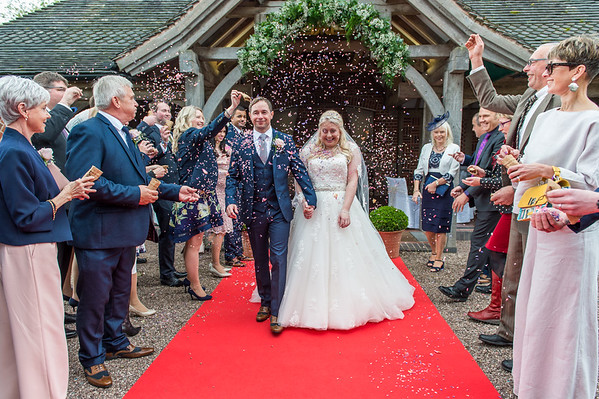 Gemma & Christian at Goldstone Hall, Shropshire