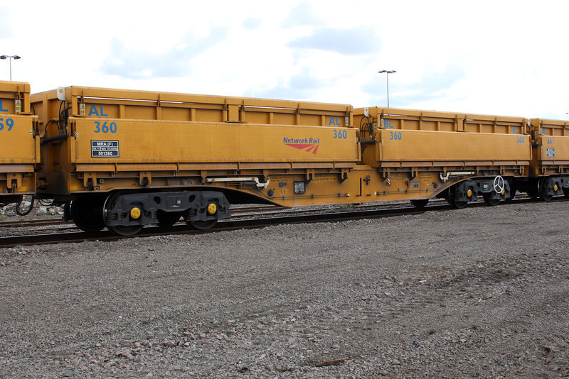 MLA 501360 at March Whitemoor Network Rail Yard Open Day 14/08/11
