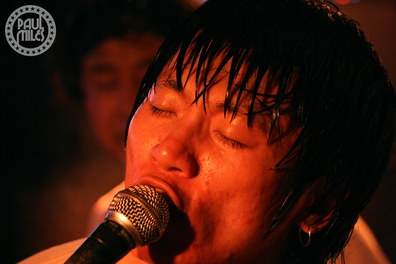 BEIJING SUMMER: China's premier punk rock band Bedstars at their album and Asian tour launch in Beijing, 2015.