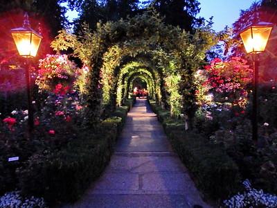 Butchart Gardens Evening
