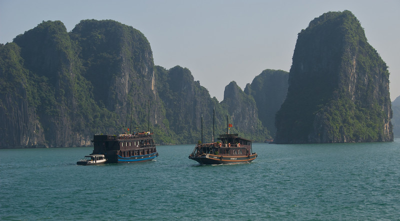 overland by boat - ha long bay