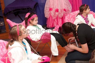 SPA-tacular Birthday Party Photo Gallery