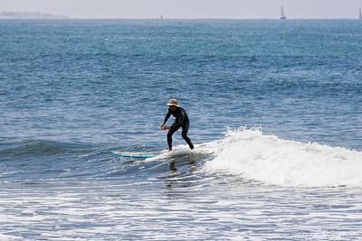 Ventura Beach Surfing 2014