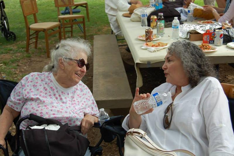 Mrs. Poirier and Astrid Schwartz
