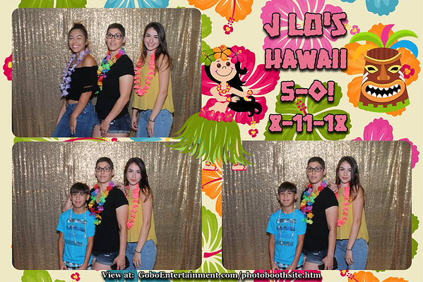 20180811 J LOs  Hawaii 5 - 0!