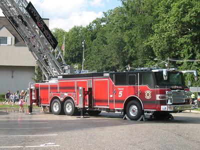 Park Ridge 5 Truck wetdown 7-18-09