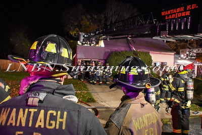 Wantagh F.D. House Fire 213 Springtime Lane North 11-16-15