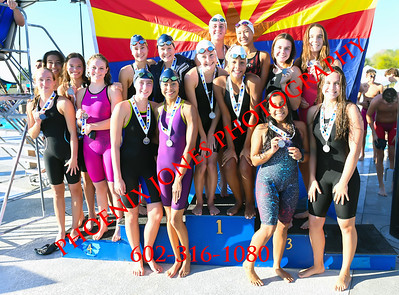 11/8/19 - AIA D3 Girls Swimming Finals - Awards