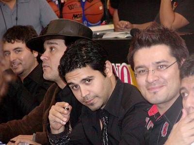 La Mafia Autograph Session at Walmart on 11-19-2004