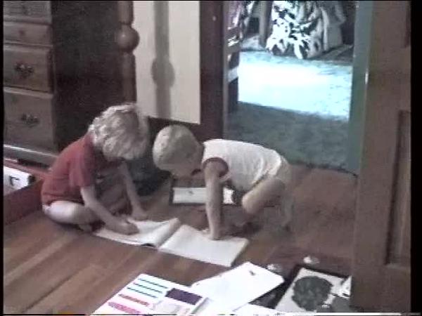 Kids Playing School - Aug'97