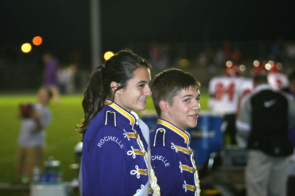 RTHS MARCHING BAND PRERFORMS AT FOOTBALL WEEK FIVE
