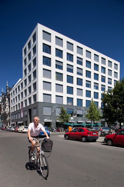 Modern building on Friedrichstrasse, Berlin, Germany