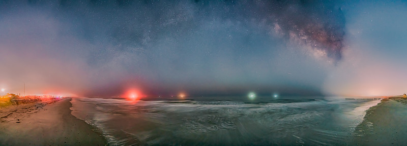 Universe Milky Way Galactic Center Above the Fog