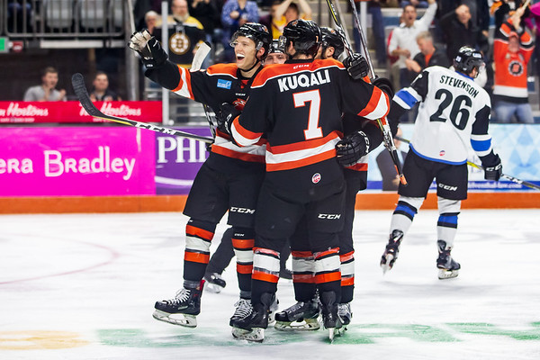 12/14/18 Komets vs. Thunder