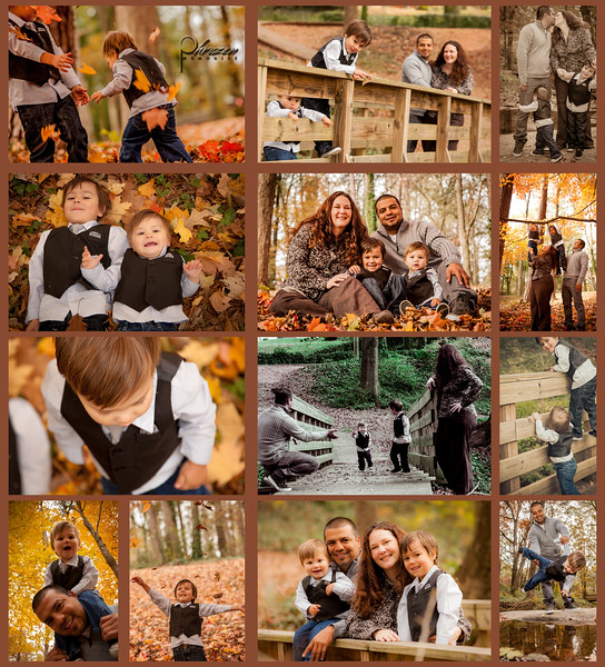 Laura & Victor's Fall Family Shoot