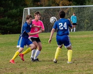Boys Soccer-Hall-Dale vs Mt Abram