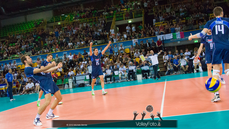 Italia esulta - Italia-Iran, World League 2013 - Modena