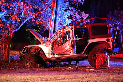 Lowry Crossing TX. Vehicle vs. Tree. Bridgefarmer Rd. 10/14/19
