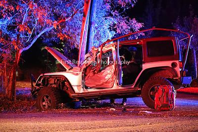 Lowry Crossing TX. Vehicle vs. Tree. Bridgefarmer Rd. 10/14/19