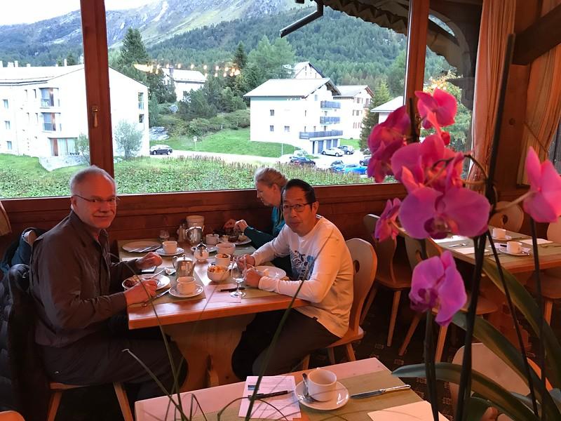 Breakfast at Hotel Schweizerhaus
