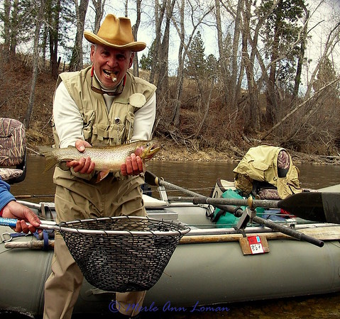 Fly Fishing Montana with Wapiti Waters, Jack C. Mauer