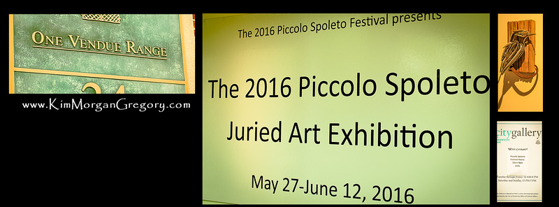 2016 PICCOLO SPOLETO JURIED ART EXHIBITION