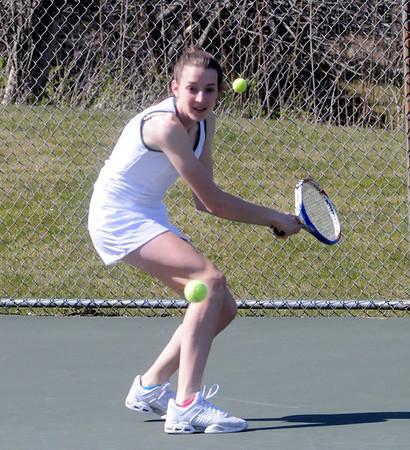 2012 BBA Girls Varsity Tennis vs MSJ photos by Gary Baker
