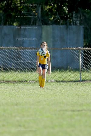Clarkton vs Bladenboro girls soccer 9/23/21