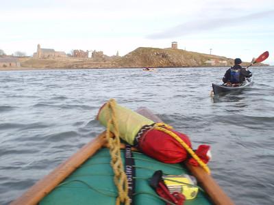 Open Canoeing Around Holy Island