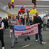INJURED SOLDIER JESSE CHAPMAN ARRIVES AT SFO