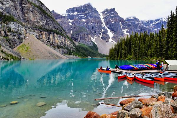 Moraine Lake, Alberta (July 2019)