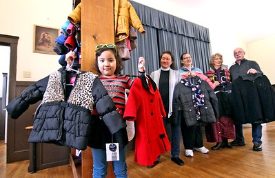 Coats and good tidings for those in need  - November 18, 2018