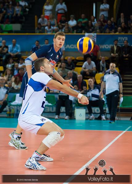 Salvatore Rossini [ITA] ricezione - Italia-Iran, World League 2013 - Modena