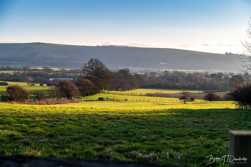 A quiet rural scene