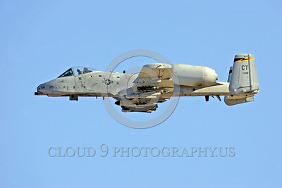 Air National Guard Fairchild A-10 Thunderbolt II Military Airplane Pictures