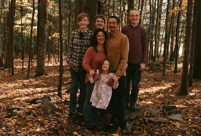 Jesse, Amanda, and Family 2020