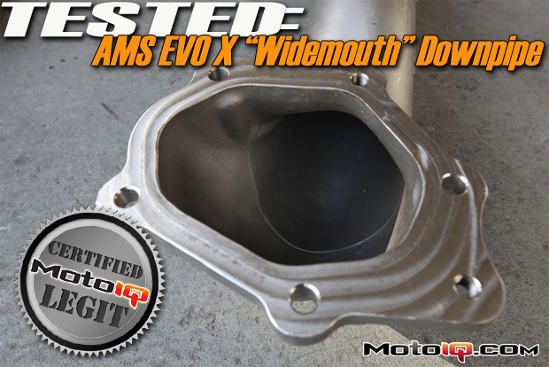 Project Evo X , Testing The AMS Big Mouth Downpipe!