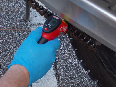 Chain Lube Test Sept 2013